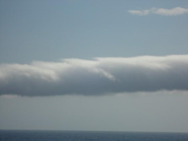 Fora do Brasil fenômeno é conhecido como 'Morning Glory Cloud' (Foto: Robson Gomes / VC no G1)