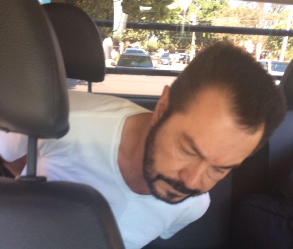 Luiz Carlos da Rocha, conhecido como Cabeça Branca, foi preso neste sábado em operação da Polícia Federal (PF) (Foto: Divulgação/Polícia Federal)