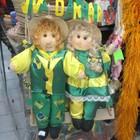 Artigos em verde e amarelo são apostas (Julia Basso Viana / G1)