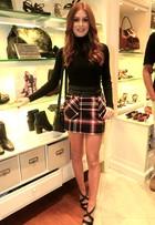 Inspire-se em 6 looks e incorpore a camisa xadrez, tendência no outono