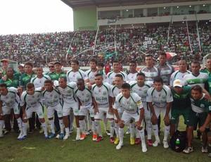 Time Campeão Paraense da Taça Estado do Pará (Foto: Gustavo Pêna / GLOBOESPORTE.COM)