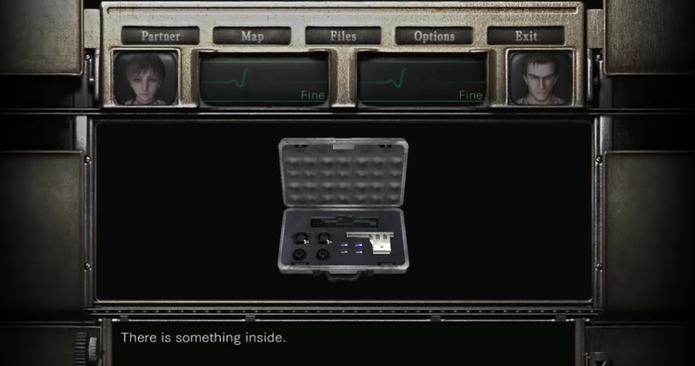 Saiba abrir a mala prateada em Resident Evil Zero (Foto: Reprodução/Felipe Vinha)