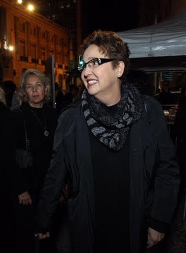 Cláudia Jimenez e Stella Torreão (Foto: Marcello Sá Barretto/AgNews)
