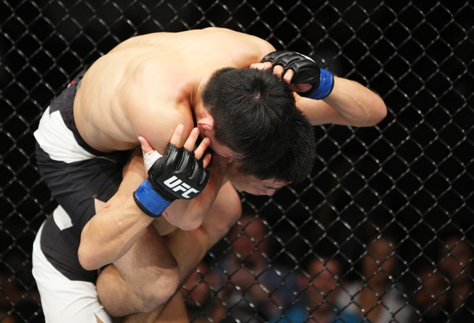 Keita Nakamura  Li Jingliang UFC (Foto: Getty Images)