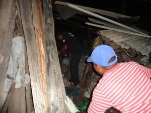 Polícia investiga motivação e autoria do crime (Foto: Edvaldo Alves / Liberdadenews )