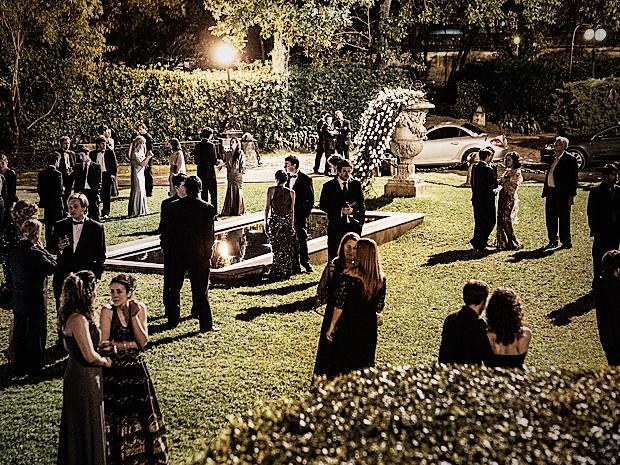 Iluminação da festa faz diferença no ambiente (Foto: Fábio Rocha / TV Globo)