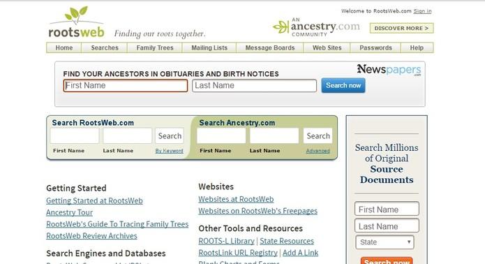 Site simples com buscas completas (Foto: Reprodução/Camila Peres)