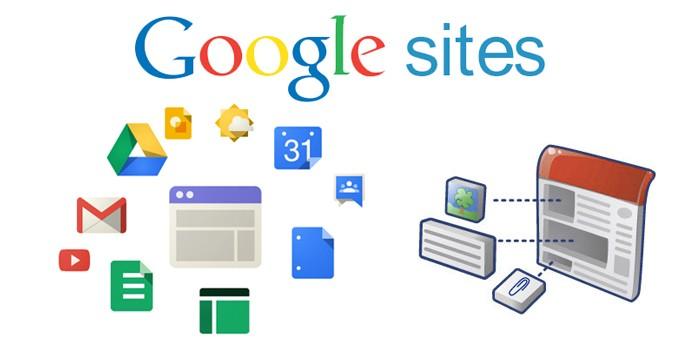 Google Sites (Foto: Reprodução/André Sugai)