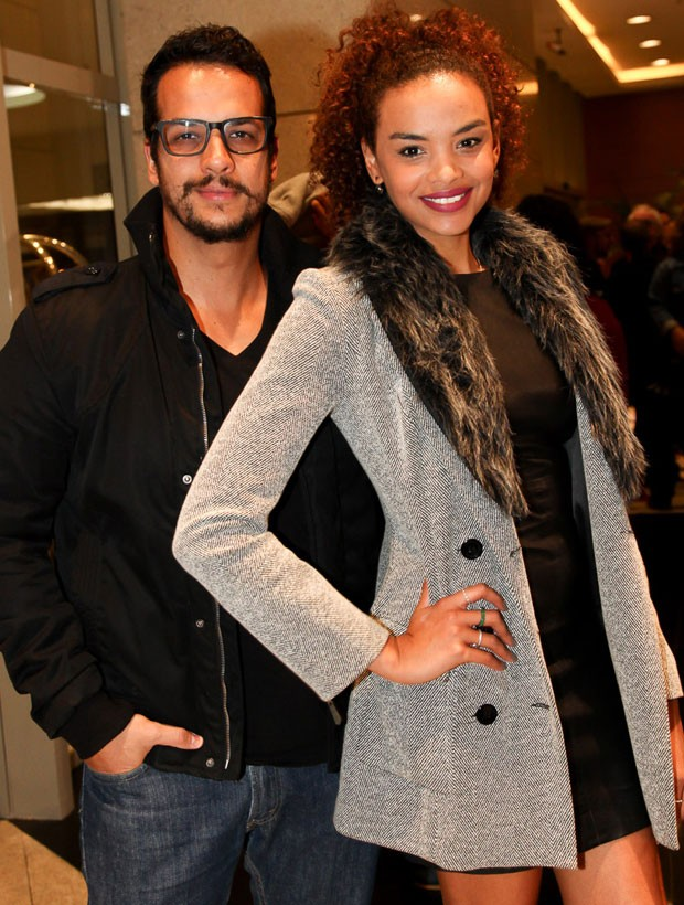 Thiago Luciano e Lucy Ramos (Foto: Marcos Ribas/Brazil News)