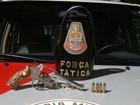 Polícia Militar prende homem com revólver e munições em Salto