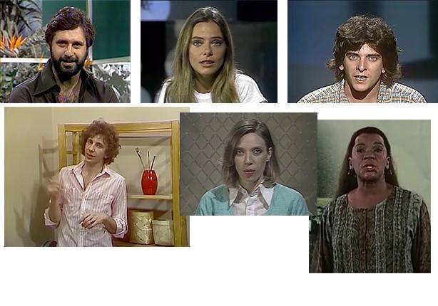 Mosaico apresentadores (Foto: Telecurso)
