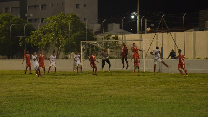 Santa Cruz-PB x Auto Esporte, Teixeirão (Foto: Edgley Lemos / GloboEsporte.com/pb)