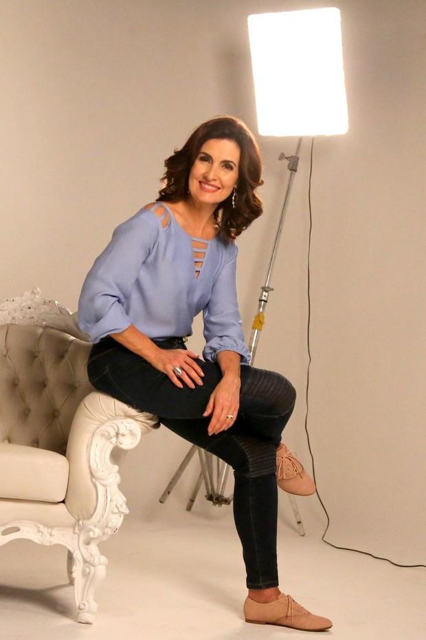 Fátima Bernardes (Foto: André Freitas / AgNews)