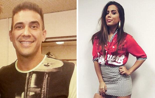 André Marques e Anitta (Foto: Divulgação  / Instagram - Reprodução)