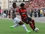 Com gol de Arão aos 45, Fla e Flu empatam e avançam na Taça Rio