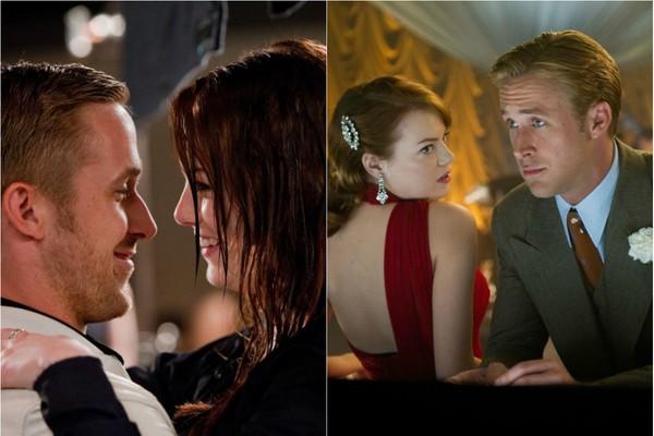 Ryan Goslin e Emma Stone formam um casal tão fofo nas telas que já fizeram dois filmes juntos. 'Amor a Toda Prova', em 2011 e 'Caça aos Gângsters', apenas 2 anos depois, em 2013  (Foto: Divulgação)