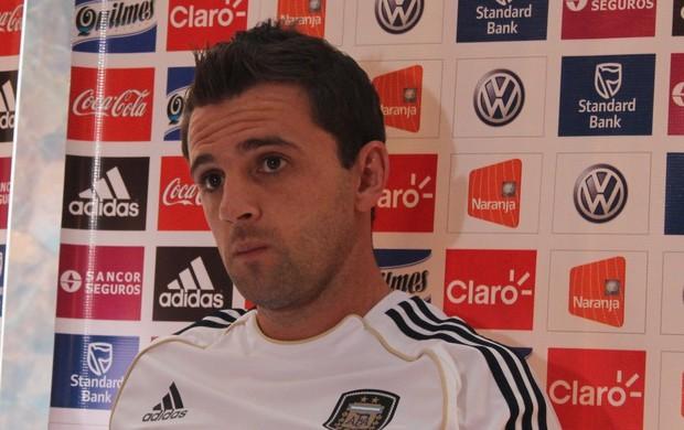 Montillo, atacante da Argentina (Foto: Fernando Vasconelos / Globoesporte.com)