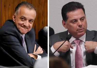 Carlinhos Cachoeira e Marconi Perillo (Foto: Lia de Paula/Agência Senado / André Coelho/Ag. O Globo)