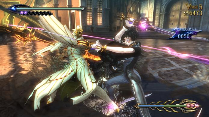 Bayonetta 2 é recheado de batalhas intensas (Foto: Divulgação)