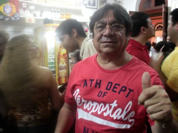 Mário Adolfo é um dos fundadores da 'Banda da Bica' e está animado para este carnaval (Foto: Marcos Dantas/G1 AM)