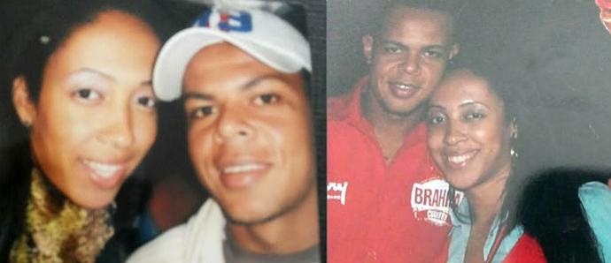 Bill Botafogo e Sabrina ex-mulher (Foto: Arquivo Pessoal/ Divulgação)