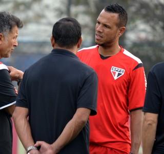 Juan Carlos Osorio Luis Fabiano São Paulo (Foto: Érico Leonan / saopaulofc.net)