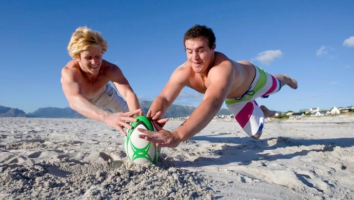 Jogadores de rugbi euatleta (Foto: Getty Images)