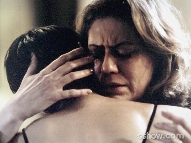 Angela chama Duda para morar com ela (Foto: O Rebu / TV Globo)