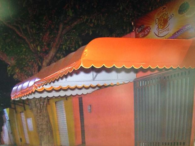 Lanchonete fica no Alecrim, bairro da Zona Leste de Natal (Foto: Reprodução/Inter TV Cabugi)