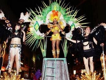 Desfiles de carnaval serão nos dias 1º e 3 de março, em Ponta Grossa (Foto: Divulgação/Fundação de Cultura)