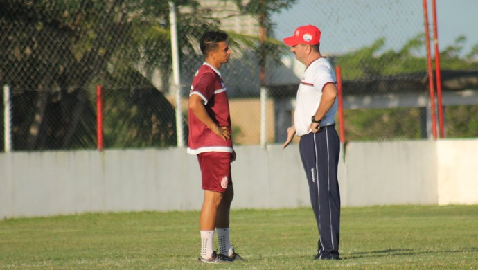 América-RN - Memo - Leandro Campos (Foto: Canindé Pereira/ América FC)