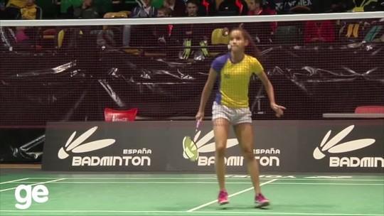 Juliana Viana cai para tailandesa e se despede do Mundial Jr de badminton