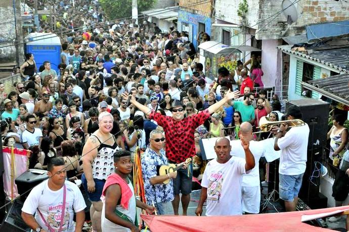 Areal do Futuro Mistura com Rodaika blocos de rua Carnaval Inspiração (Foto: Divulgação/Areal do Futuro)