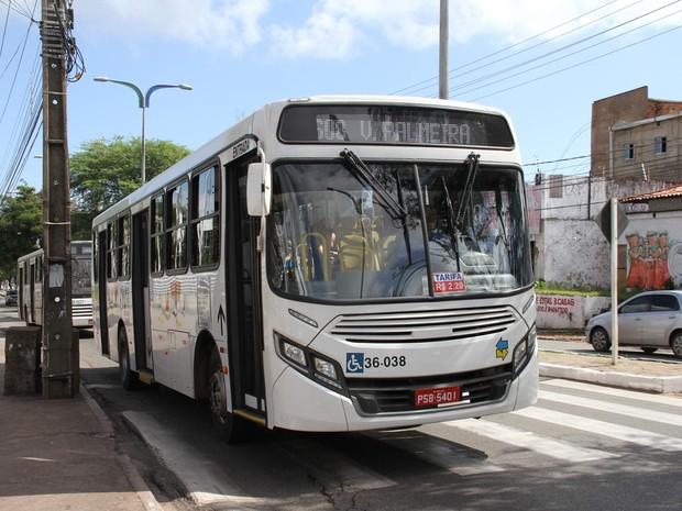 Tarifas de ônibus tiveram reajuste de 11,5% em São Luís (Foto: Reprodução/TV Mirante)