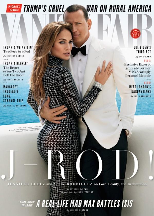 A cantora Jennifer Lopez na capa da revista Vanity Fair (Foto: Divulgação)