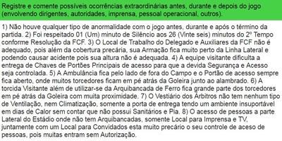 Súmula delegado Almirante Barroso x Joinville (Foto: Reprodução)