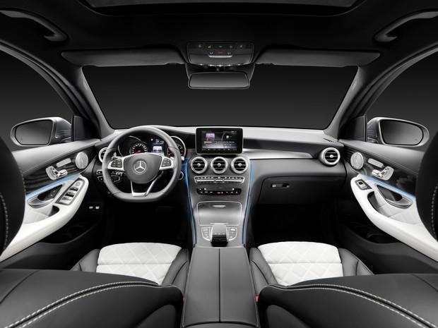Interior do Mercedes-Benz GLC (Foto: Divulgação)