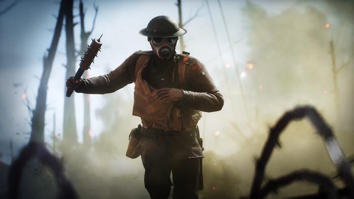Período histórico trouxe mudanças nas armas de Battlefield 1 (Foto: Reprodução/Electronic Arts)