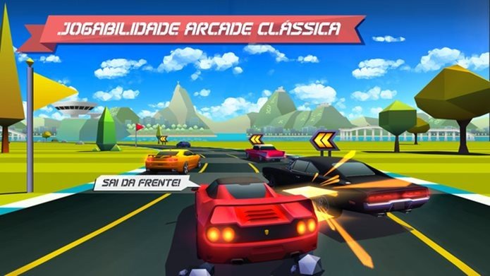 Inspirado em Top Gear, Horizon Chase é indispensável para os fãs do clássico (Foto: Divulgação / Aquiris)