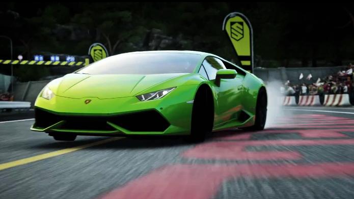 Driveclub receberá ainda em março um DLC com quatro modelos de Lamborghini (Foto: Reprodução/YouTube)