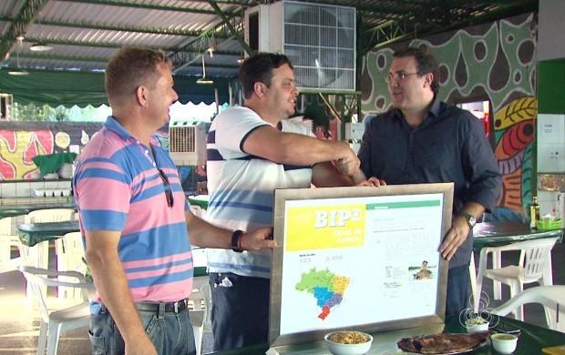 Ele investiu em publicidade durante a programação da Rede Amazônica em Roraima. (Foto: Bom Dia Amazônia)