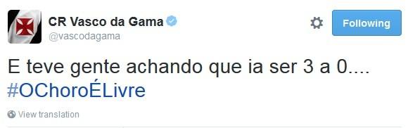 zoação vasco flamengo