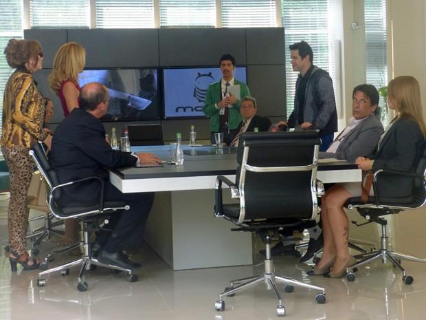Jonas alfineta Pamela sobre patrocinio com a Parker TV (Foto: Geração Brasil/ TV Globo)