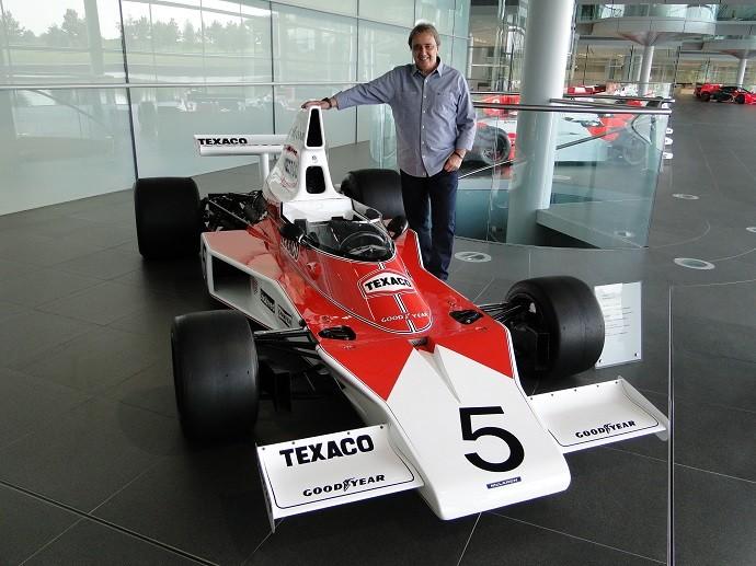 Reginaldo Leme e McLaren M23