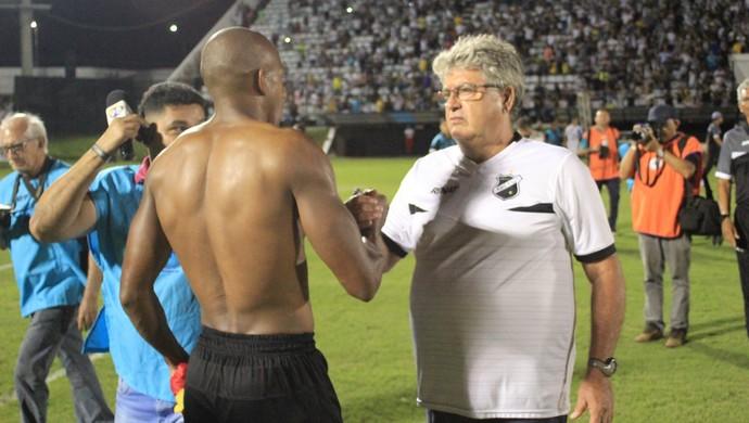 ABC x Globo FC, no Estádio Frasqueirão - Geninho - Negretti (Foto: Fabiano de Oliveira/GloboEsporte.com)