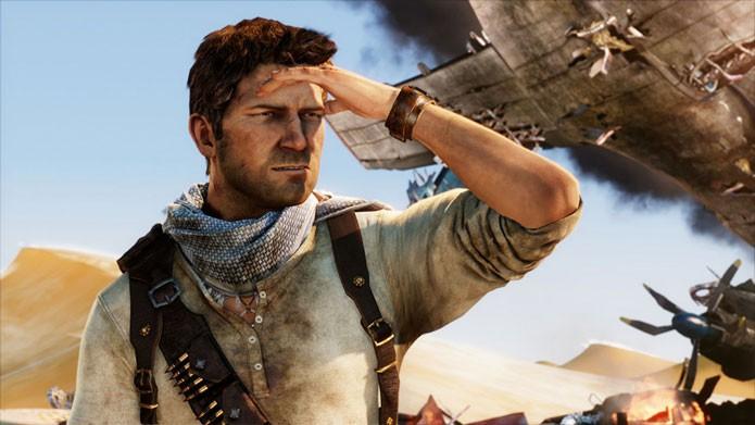 Uncharted 3 é promoção na PSN (Foto: Divulgação)