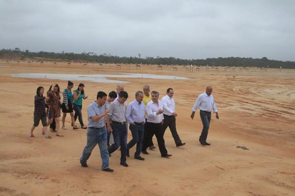 Terreno da JAC Motors em Camaçari (Foto: Adenilson Nunes/Divulgação)