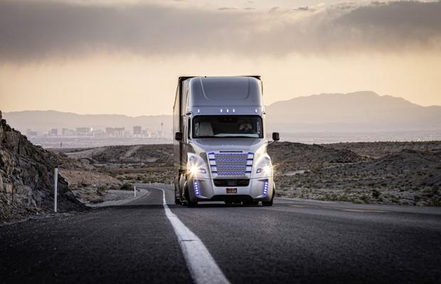 Primeiros caminhões autônomos do mundo recebem autorização para circular nos EUA (Foto: Divulgação)