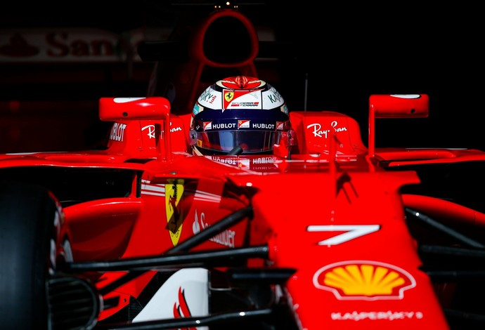 Kimi Raikkonen Pré-temporada f1 ferrari (Foto: Reprodução)