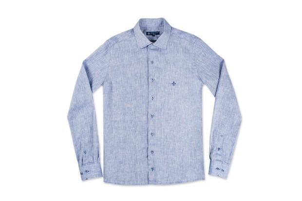 2e930be882 Uma das camisas de linho da nova coleção da Dudalina (Foto  Divulgação)
